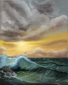 Море, сорокина ольга, купить картины, масло, холст