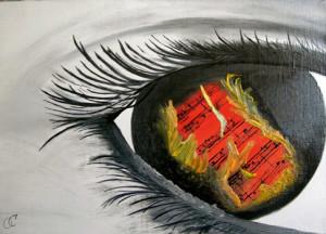Страх-перед-мечтой, сорокина ольга, купить картину, масло, холст, глаз