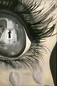 Одиночество, сорокина ольга, купить картину, холст, масло, глаз